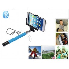 2 in 1 Wireless Bluetooth Extendable Selfie Monopod  with Remote Shutter Button